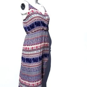 One ❤ Clothing | NEW Maxi Dress Boho Print size M
